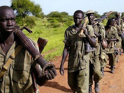 Buenas noticias para los menores soldados de Sudán del Sur