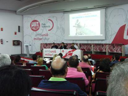 Inaguración de las jornadas sobre éxito y fracaso escolar este viernes en Valencia.