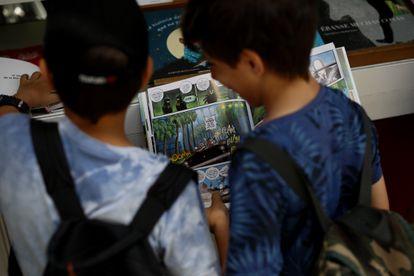 Dvd 787 (27-05-16) Ambiente en la Feria del libro . © Samuel Sanchez