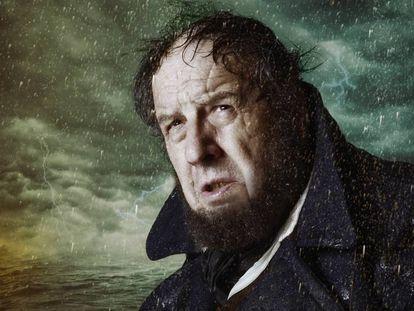 Josep Maria Pou como el capitán Ahab, en una imagen promocional de 'Moby Dick'