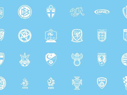 Todas las selecciones de la Eurocopa