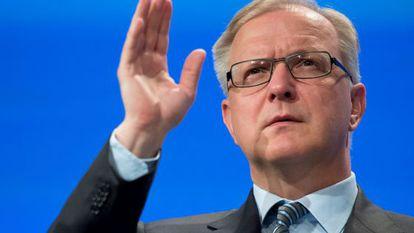 El vicepresidente de la Comisión, Olli Rehn.