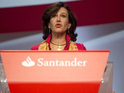 Ana Patricia Botin, Presidenta del banco de Santander