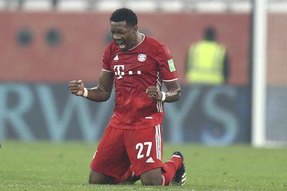 David Alaba celebra la victoria en el Mundial de Clubes con el Bayern en Qatar el jueves pasado.