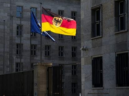 Fachada del ministerio de Finanzas, en Berlín.