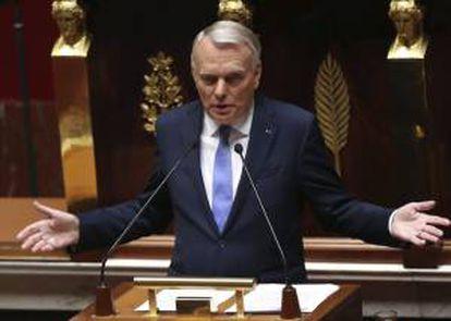 El primer ministro francés Jean-Marc Ayrault. EFE/Archivo