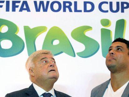 Teixeira y Ronaldo, en un acto del pasado mes de diciembre.