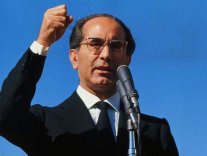 Emilio Colombo, durante su época de primer ministro, en 1971.
