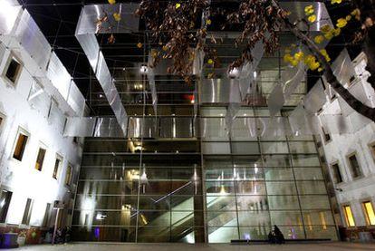 Patio del Centro de Cultura Contemporáneo de Barcelona (CCCB).