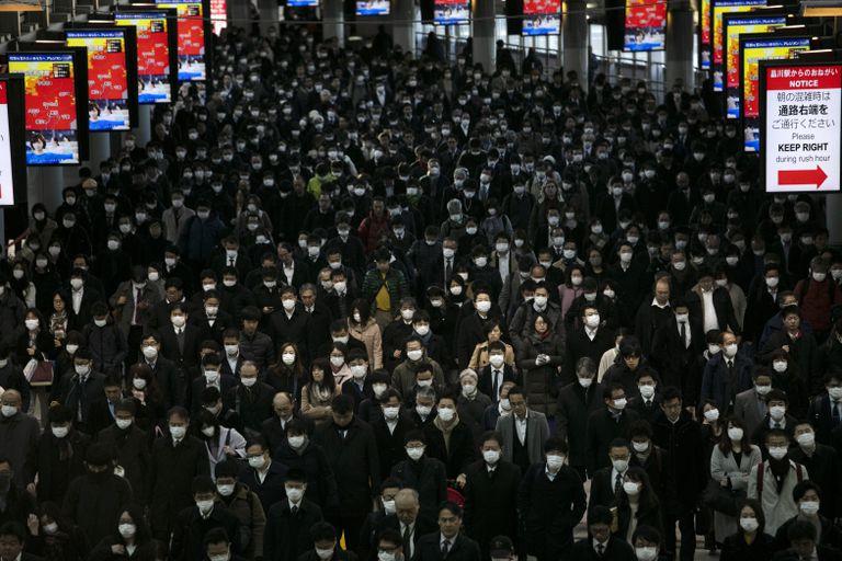 Aspecto de la estación de Shinagawa, en Tokio, el pasado día 3 de marzo.