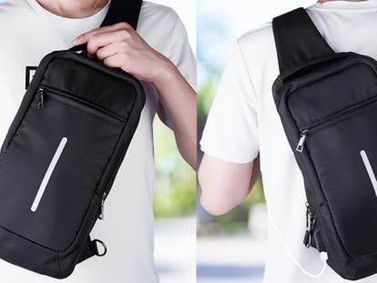 Esta mochila protege tus objetos de valor, gracias a sus materiales impermeables