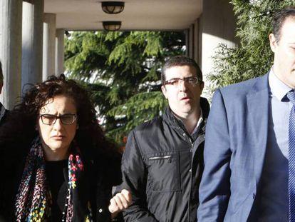 Gómez-Criado y Rubial (sin corbata), en una imagen de archivo.