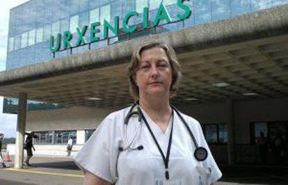 Carmen Varela, coordinadora de urgencias del hospital Clínico de Santiago