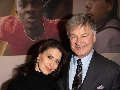 Alec e Hilaria Baldwin, en un estreno de Broadway, en Nueva York, en febrero de 2020.