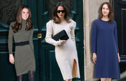 'Royals' como Kate Middleton o 'influencers' como Therese Hellström también se apuntan a la comodidad de los vestidos de punto.