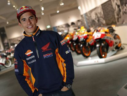 Imagen de archivo del piloto de Honda, Marc Márquez.
