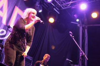 La cantante Alice Russell.