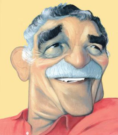 El escritor, periodista y guionista Gabriel García Márquez.