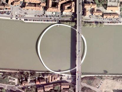 El Circle Bridge (2010), en Maribor, Eslovenia. Una construcción diseñada por Oana Stanescu y Dong-Ping Wong.
