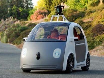 El Google Car.