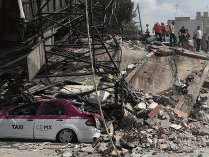 La Roma y Condesa, dos de las colonias más antiguas y pobladas de la capital, sufren los peores efectos del sismo