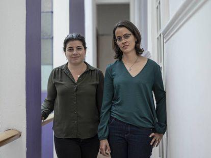 Belén Márquez y Biani López, víctimas del sacerdote legionario Fernando Martínez.
