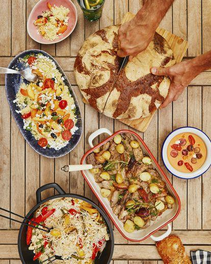 Recetas para las cenas de verano.