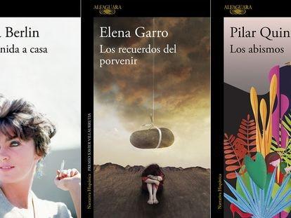 Portadas de libros publicados por Alfaguara.