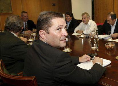 Reunión en el Ministerio de Industria