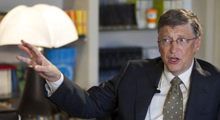Bill Gates durante una reciente entrevista concedida a El País.