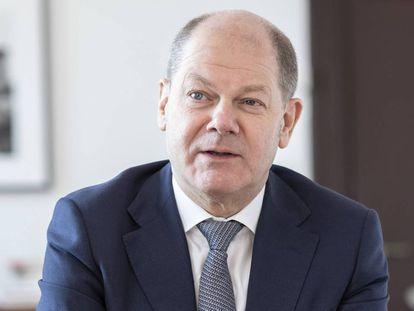 Olaf Scholz, ministro federal de Finanzas