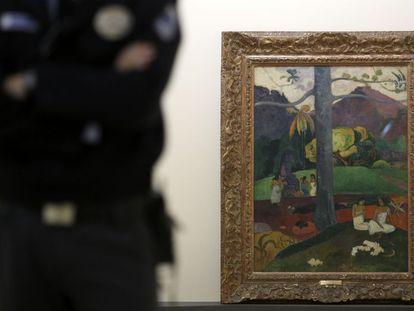 'Mata mua', una de las obras más conocidas de Paul Gauguin, se ha convertido en la más famosa del Museo Thyssen.