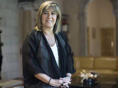 Núria Marín, alcaldesa de L'Hospitalet y presidenta de la Diputación de Barcelona.