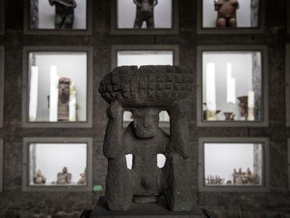 Museo Diego Rivera Anahuacalli, templo para el arte que concibió Diego en vida, Coyoacán CDMX, el museo alberga una de las colecciones más grandes del mundo de arte prehispánico.