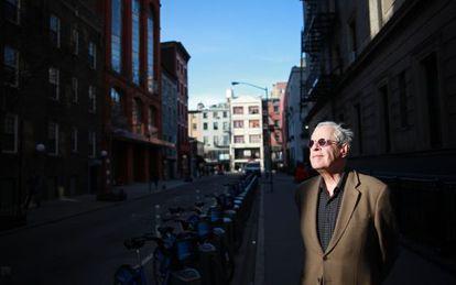 El poeta Charles Simic, en Nueva York.