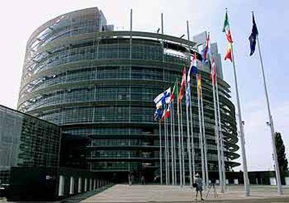 El nuevo edificio del Parlamento Europeo en Estrasburgo.