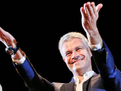Laurent Wauquiez, el nuevo presidente del partido francés Los Republicanos