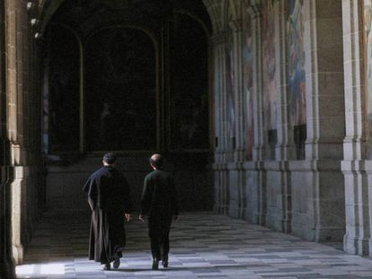 Dos religiosos en una imagen de archivo.