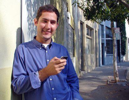 Kevin Systrom, fundador de Instagram.