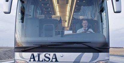 Autobús de Alsa en una imagen de archivo.