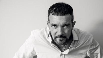 Antonio Banderas, fotografiado durante el último Festival de San Sebastián.