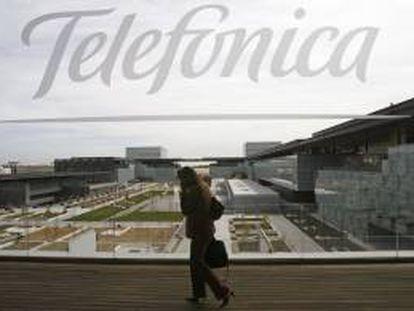 Imagen del edificio de la nueva sede de Telefónica, conocida como el Distrito C de Telefónica, situado en el PAU de Las Tablas (Madrid). EFE/Archivo