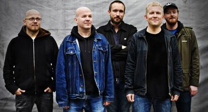 El grupo escandinavo Atomic en una actuación.