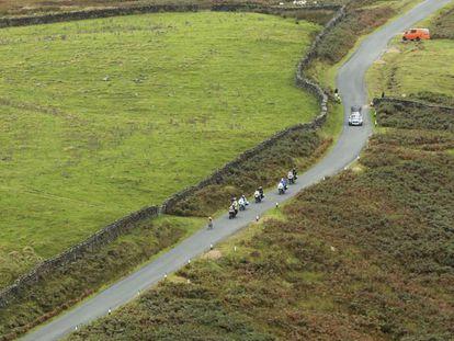 Un tramo del recorrido del Mundial de ciclismo.