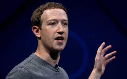 El creador de Facebook, Mark Zuckerberg.