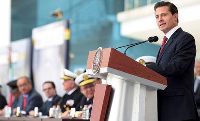 Peña Nieto, durante un evento.