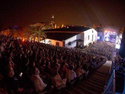 Concierto en el Patio de la Tonelería, en el Tío Pepe Festival 2018, en Jerez de la Frontera (Cádiz).