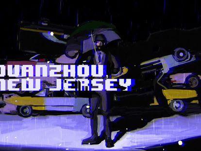 La pieza 'Quanzhou - New Jersey'
