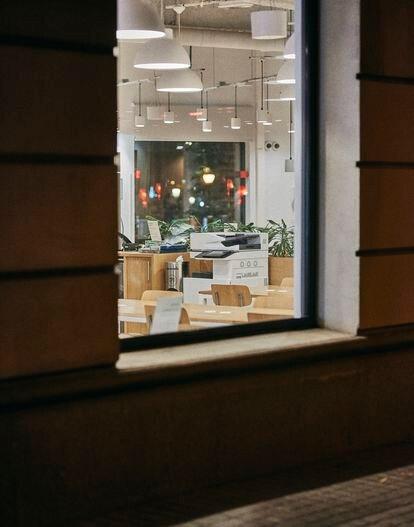 Un espacio de trabajo colaborativo en Barcelona.