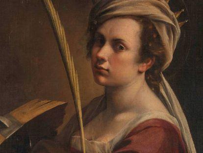 'Autorretrato como santa Catalina de Alejandría' (1615-17), de Artemisia Gentileschi, adquirida en 2018 por la National Gallery de Londres.